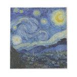 La noche estrellada Vincent van Gogh 1889 Blocs De Papel