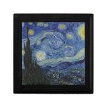 La noche estrellada Vincent van Gogh 1889 Cajas De Joyas