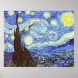 La noche estrellada, Vincent van Gogh Posters