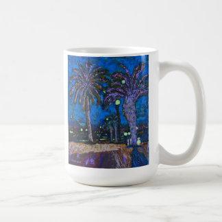 La noche mexicana de las palmeras enciende la pint tazas