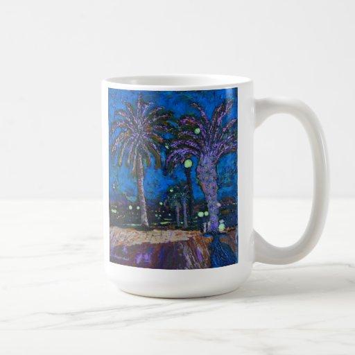 La noche mexicana de las palmeras enciende la taza clásica