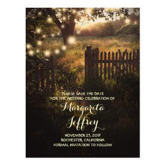 la noche romántica enciende reserva rústica las postales