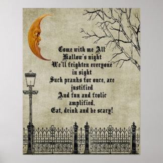 La noche todo el Hallow's Póster