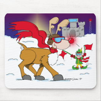 La Nochebuena saca Mousepad Tapetes De Ratón