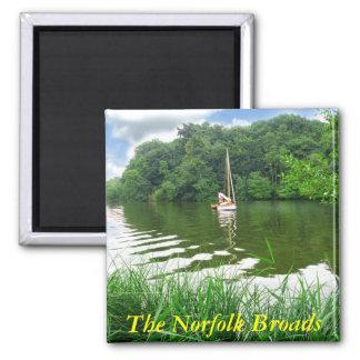 La Norfolk Broads Imán De Nevera