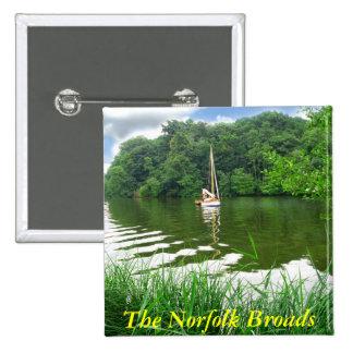 La Norfolk Broads Pin
