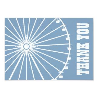 La noria le agradece cardar (gris azul/el blanco) anuncio personalizado