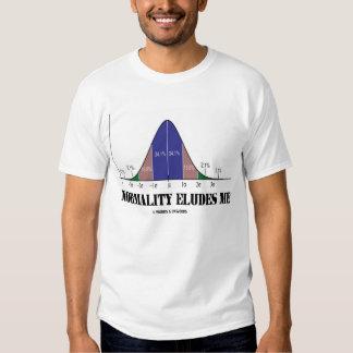 La normalidad me elude (el humor del Stats) Camisas