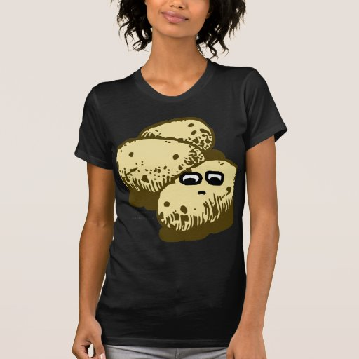 La novedad insustancial de la patata camiseta