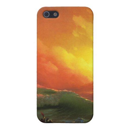 La novena onda, Ivan Aivazovsky iPhone 5 Protector