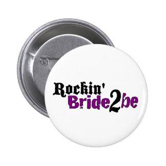 La novia 2 de Rockin sea Pin Redondo 5 Cm