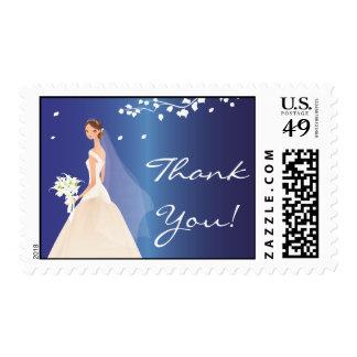 La novia azul del zafiro le agradece ducha nupcial sello