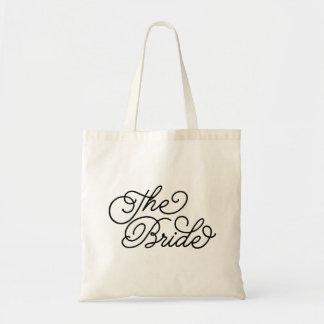 La novia bolsa tela barata