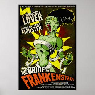 La novia de Frankenstein Posters