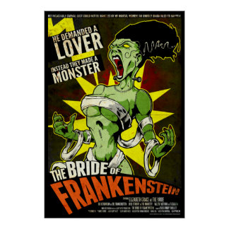 La novia de Frankenstein Póster