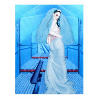 La novia de la inocencia - autorretrato postal