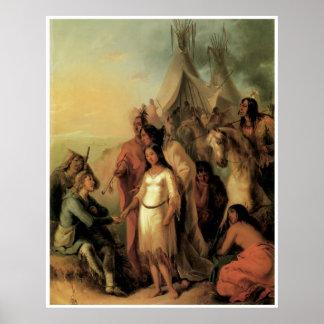 La novia del trampero, 1845 impresiones
