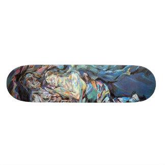 La novia del viento (la tempestad) skate board