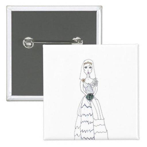 La novia espeluznante pin