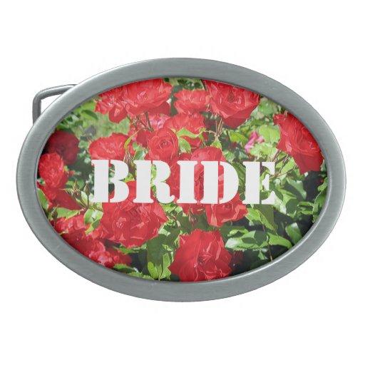 La novia florece la hebilla del cinturón hebillas de cinturón