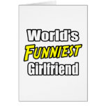 La novia más divertida del mundo tarjeta