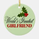 La novia más grande del mundo ornamento de navidad