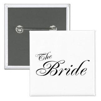 La novia (negro) pins