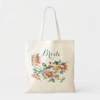 La novia, novia del equipo, boda, bachelorette… bolsa tela barata
