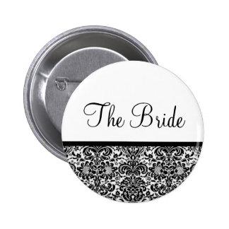 La novia pin redondo 5 cm
