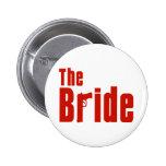 La novia (rojo de la mafia) pins
