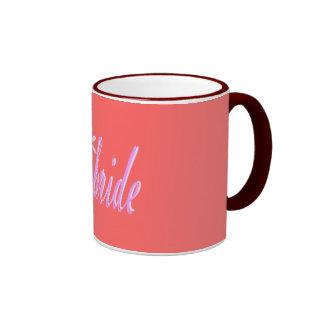 la novia tazas de café