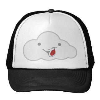 ¡La nube feliz es feliz! Gorros