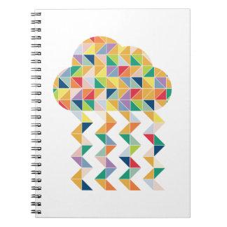 ¡La nube mágica de la imaginación! Libro De Apuntes