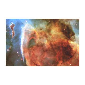 La nube molecular del agujero de la cerradura lona estirada galerías