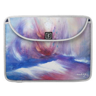 La nube púrpura apuntala la caja del ordenador fundas para macbook pro