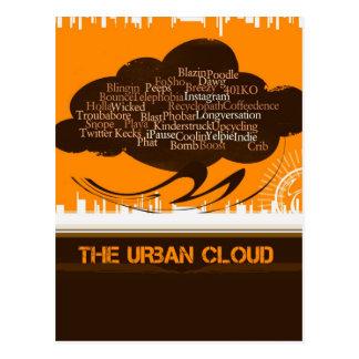 La nube urbana postal