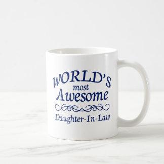 La nuera más impresionante del mundo taza