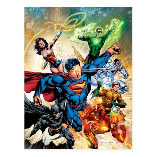 La nueva 52 cubierta #2 postal