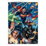 La nueva 52 cubierta #4 tarjeta de felicitación
