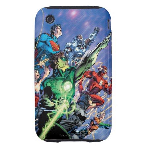 La nueva 52 impresión de la cubierta #1 3ro iPhone 3 tough cobertura