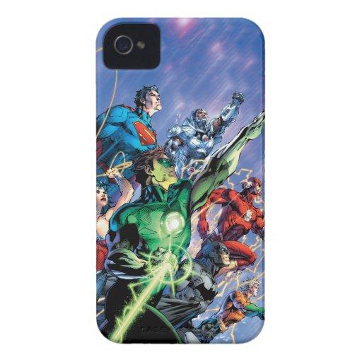 La nueva 52 impresión de la cubierta #1 3ro Case-Mate iPhone 4 funda
