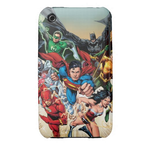 La nueva 52 impresión de la cubierta #1 4to iPhone 3 Case-Mate protector