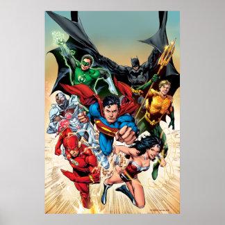 La nueva 52 impresión de la cubierta #1 4to póster