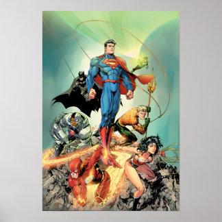 La nueva 52 variante de la cubierta #3 Capullo Poster