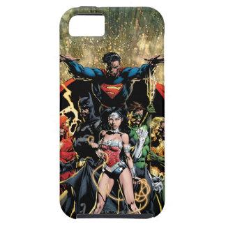 La nueva 52 variante del pinzón de la cubierta #1 iPhone 5 protector
