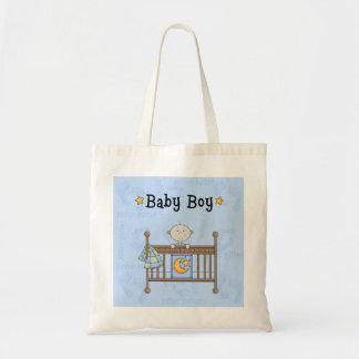 La nueva bolsa de asas del pañal del tema del bebé