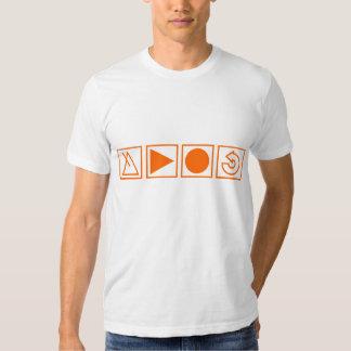 La nueva camiseta del blanco del fabricante del remeras