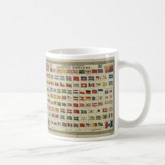 La nueva carta de Johnson de los emblemas Taza De Café