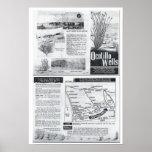 La nueva ciudad del Ocotillo mana - folleto de los Posters