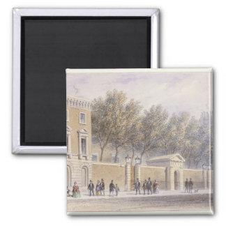 La nueva entrada a Pasillo de los tenderos, 1854 Imanes